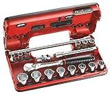 Facom J DBOX 1-6c 3/8 Tasses box 21 pièces
