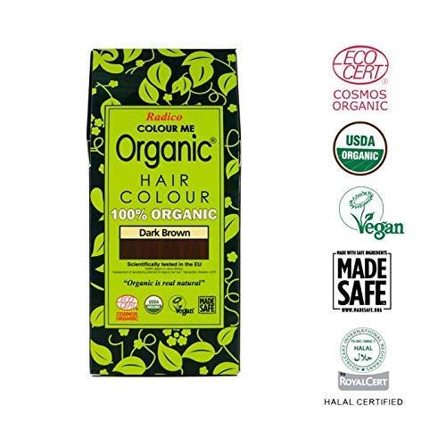 Radico - Tinte vegetal orgánico para el cabello - Castaño oscuro