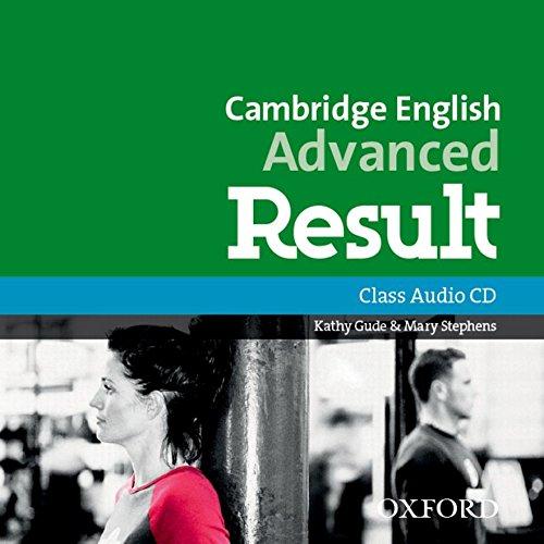 Cambridge English: Advanced Result: CAE 2015 Result. Con CD