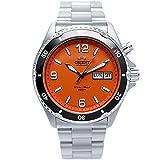 Orient Herren-Armbanduhr Analog Automatik Edelstahl EM651M