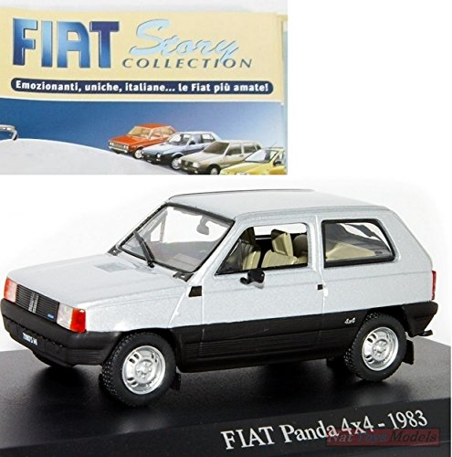 Preisvergleich Produktbild Fiat Panda 4x4 1983 Rare MODELLINO DIECAST 1:43 MODEL +fas Fiat Story Collection