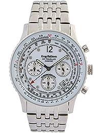 Krug Baumen 400301DS - Reloj, correa de acero inoxidable color acero
