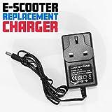 Ladegerät für Elektro-Scooter, passend für die meisten Modelle, 24 V, AC 230 V 50 HZ, DC