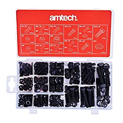 Am-Tech Nuts and Bolts (240 Pieces)