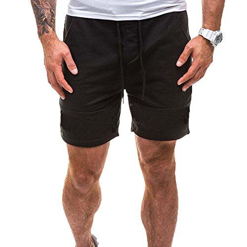 Eaylis-herren-shorts Sommer LäSsige Hose Gerade Einfarbige Jogginghose