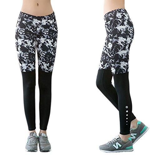 Muryobao - Pantalon de sport - Femme Silverfall