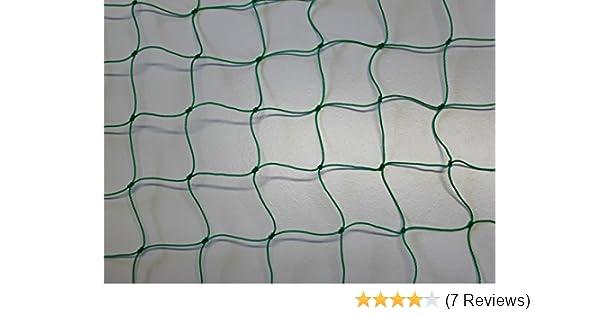 Ballnetz Höhe 2,00 m Länge 15,00 m grün Ballfangnetz Fangnetz Fußballnetz Netz