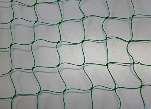 Ballnetz - Höhe 5,00 m - grün - Ballfangnetz - Fangnetz - Fußballnetz - Netz - Meterware