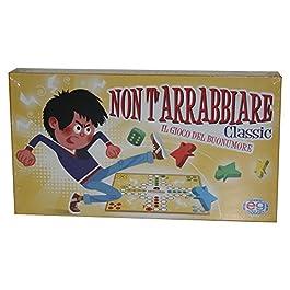 Editrice Giochi Gioco da Tavolo Non T'Arrabbiare, Multicolore, 6034025
