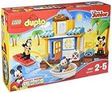 Buy 10827 Duplo Mickey Friends Beach House Lego Toys On The