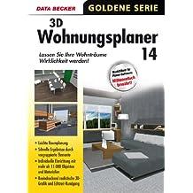 Data Becker 3D Wohnungsplaner 14 - Software de diseño automatizado (CAD) (DEU, 1600 MB, PC, Windows 8, 7 (SP1), Vista (SP2), XP (SP3), Full, 1 usuario(s))