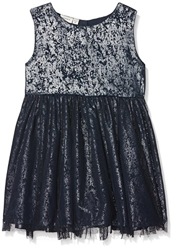 NAME IT Baby-Mädchen Kleid NITFITTER Spencer WL F Mini, Grau (Dress Blues), 98