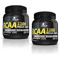 Preisvergleich für Olimp BCAA Mega Caps 1100, 2 x 300 Kapseln, (2 x 387 g)