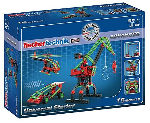 Fischertechnik - 536618 ADVANCED Universal Starter, Konstruktionsspielzeug