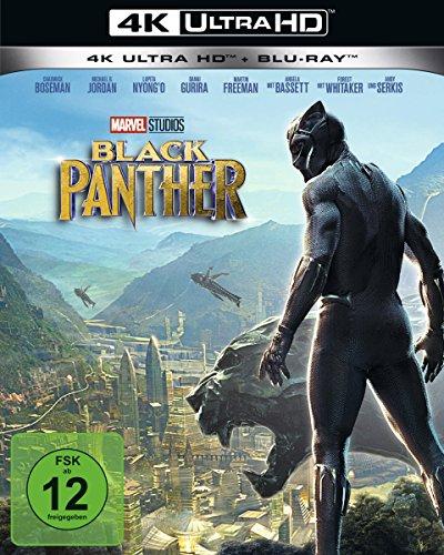 Black Panther [Blu-ray] Black Hd-dvd