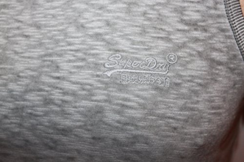 Superdry Jungen Top O L Low Roller Monument grey