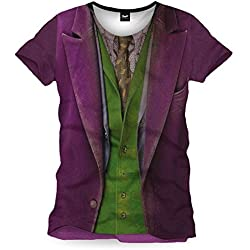 Camiseta del Joker - para hombre morado Medium