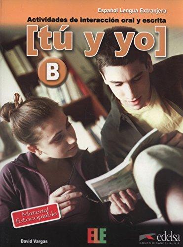 Tú y yo nivel B (Material Complementario - Jóvenes Y Adultos - Tú Y Yo  - Nivel B1-B2)