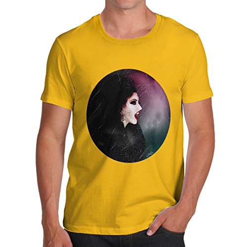 T-Shirt Halloween The Wicked Witch Print X-Large Gelb ()