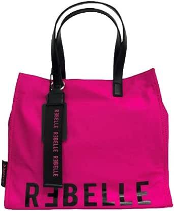 Rebelle Electra nylon electra shop fuxia fluo bag donna
