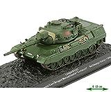 Leopard 1A2 Leo - Carro armato Die-Cast, modello Mst1:73, per vetrina carro armato