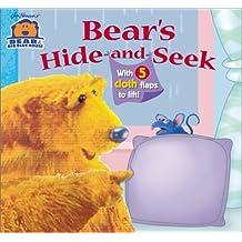 Bear's Hide-And-Seek (Bear in the Big Blue House (Board Books Simon & Shuster))