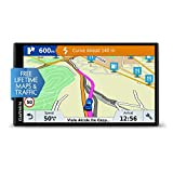 Garmin DriveSmart 61LMT-S 6.95 Inch Sat Nav with Lifetime Map Updates for UK, Ireland and Full Europe, Free Live Traffic and Built-In Wi-Fi