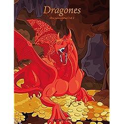 Dragones libro para colorear 1 & 2