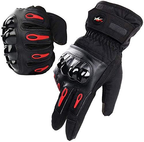 Karvipark Taktische Handschuhe, Motorradhandschuhe Fahrrad handschuh Herren Vollfinger Handschuhe militär Paintball Handschuhe Winddicht und Touchscreen für Skifahren Airsoft Outdoor Aktivitäten