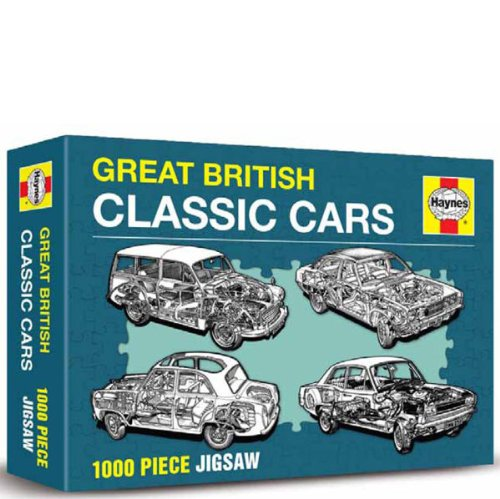 Haynes Jigsaw Great British Cars