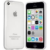 iPhone 5C Hülle in Transparent - moodie Silikonhülle Schutzhülle Case für Apple iPhone 5C