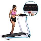 ZEARO tapis roulant électrique pliable electrique fitness Gym ménage à faible bruit avec la Fréquence Cardiaque 110V