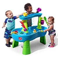 STEP2 Rain Showers Splash Pond Water Table, Multi-Colour, 81.3 x 61 x 99.1 cm, 874600