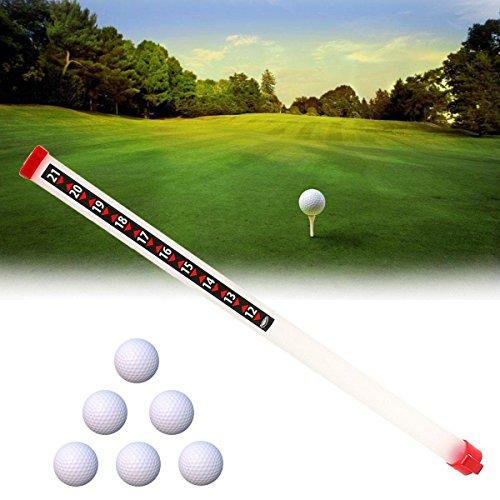 Anddod Portable Outdoor Golf Ball Picker Sport Practice Shagger Pick-Ups Tube Retriever