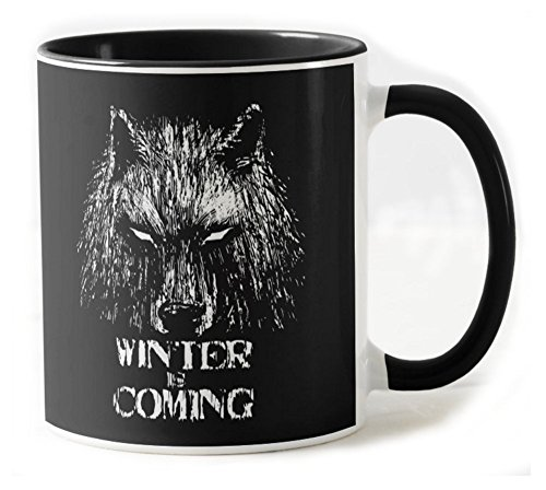 344-Taza De Ceramica - Winter Is Coming (Fuacka)