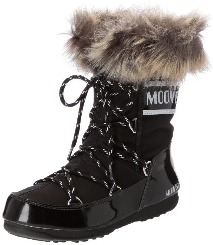 Moon Boot W.E. Monaco Low Scarpe sportive outdoor, Donna, Nero, 40