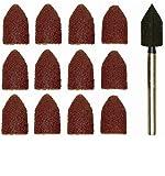 Salki -Proxxon 2228987 - Set 10 lijas cónicas + vástago