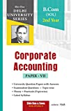 Corporate Accounting for B.Com Programme 2nd Year SOL Delhi University by Shiv Das (Shiv Das Delhi University)