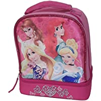 Disney Princess Lunch Bag Featuring Belle, Ariel, Sleeping Beauty, and Cinderella. preisvergleich bei kinderzimmerdekopreise.eu