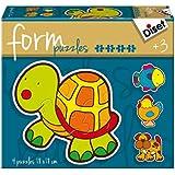 Diset - Form tortuga, rompecabezas (69953)