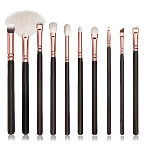 LONUPAZZ 10 pcs/set maquillage brush set makeup brushes kit outils maquillage professionnel maquillage pinceaux yeux pinceau pour les lèvres