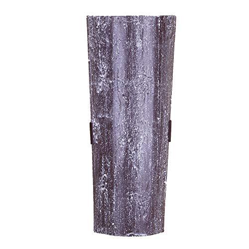 Dachziegelleuchte Trüffel | Wandleuchte Dachziegel nur für Innen | Wandlampe inkl. GU10 Leuchtmittel | Lampe mit Klosterziegel handbemalt | Leuchte für indirekte Beleuchtung