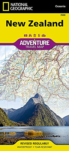 Neuseeland: NATIONAL GEOGRAPHIC Adventure Maps