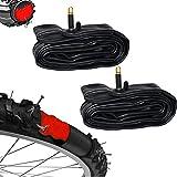 WOLTU 2x Selbstreparierender Fahrradschlauch 28 x 1 3/8 x 1 5/8 pannensicher Autoventil FZU1618-2