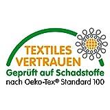 Tischpolster Weiss Eckig 100x220 cm · Länge & Breite wählbar - Molton Schutz wasserdicht Tischdecke - 4