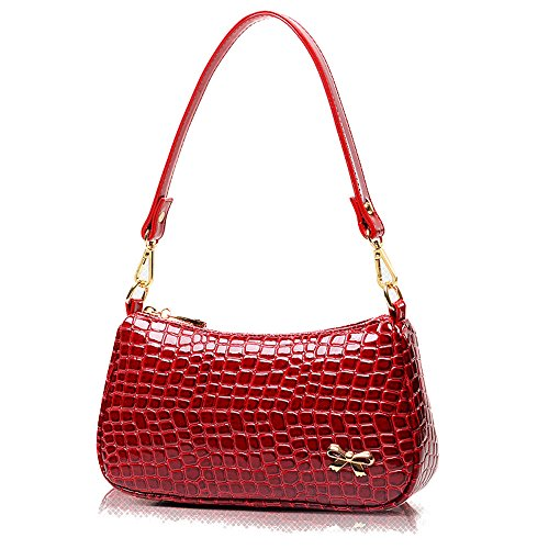 Schultertasche FavoMode Rot Rot Schultertasche FavoMode FavoMode Schultertasche Rot FavoMode Damen FavoMode Schultertasche Rot Damen Damen Damen pAqYw