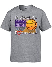 Camiseta NBA Sacramento Kings Baloncesto Basketball Fan I Love This Game