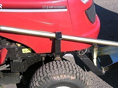 Jonsered LT2216 verzinktes Komfort-Schneeschild 118 x 50 cm für Rasentraktoren ID 2234