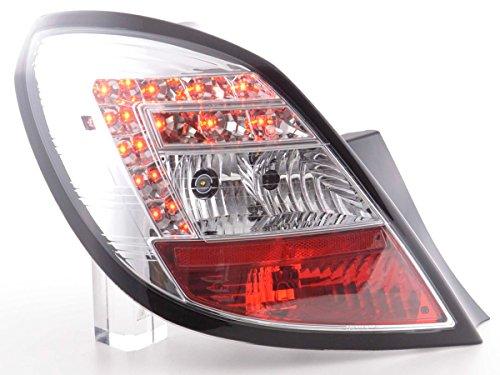 LED Feux arrières pour LED  Corsa D 5-portes année 06-10, chrome [Meccanico]