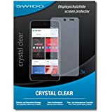 """3 x SWIDO® film protecteur Wileyfox Swift protection d'écran feuille """"CrystalClear"""" invisible"""
